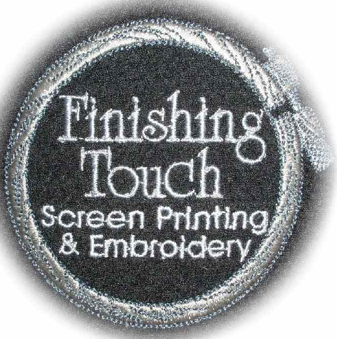 Finishing Touch Embroidery 707 938 7569 Your Personal Embroiderer